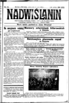 Nadwiślanin. Gazeta Ziemi Chełmińskiej, 1932.05.21 R. 14 nr 114