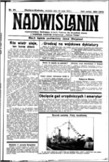 Nadwiślanin. Gazeta Ziemi Chełmińskiej, 1932.05.22 R. 14 nr 115