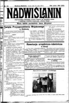 Nadwiślanin. Gazeta Ziemi Chełmińskiej, 1932.05.24 R. 14 nr 116