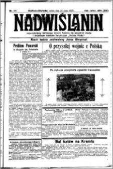 Nadwiślanin. Gazeta Ziemi Chełmińskiej, 1932.05.25 R. 14 nr 117
