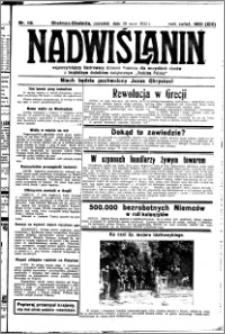 Nadwiślanin. Gazeta Ziemi Chełmińskiej, 1932.05.26 R. 14 nr 118