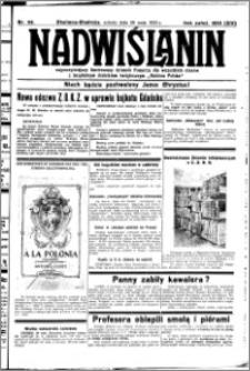 Nadwiślanin. Gazeta Ziemi Chełmińskiej, 1932.05.28 R. 14 nr 119