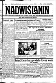 Nadwiślanin. Gazeta Ziemi Chełmińskiej, 1932.06.02 R. 14 nr 123