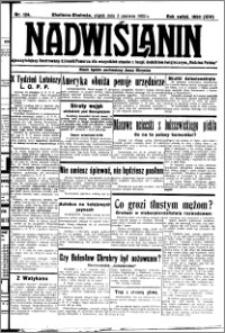 Nadwiślanin. Gazeta Ziemi Chełmińskiej, 1932.06.03 R. 14 nr 124