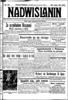 Nadwiślanin. Gazeta Ziemi Chełmińskiej, 1932.06.09 R. 14 nr 129
