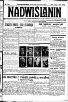 Nadwiślanin. Gazeta Ziemi Chełmińskiej, 1932.06.15 R. 14 nr 134