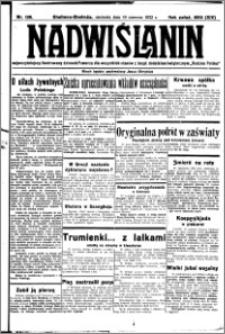Nadwiślanin. Gazeta Ziemi Chełmińskiej, 1932.06.19 R. 14 nr 138
