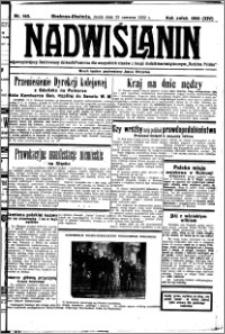 Nadwiślanin. Gazeta Ziemi Chełmińskiej, 1932.06.22 R. 14 nr 140
