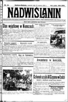 Nadwiślanin. Gazeta Ziemi Chełmińskiej, 1932.06.23 R. 14 nr 141