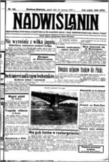 Nadwiślanin. Gazeta Ziemi Chełmińskiej, 1932.06.24 R. 14 nr 142