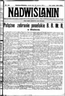 Nadwiślanin. Gazeta Ziemi Chełmińskiej, 1932.06.28 R. 14 nr 145