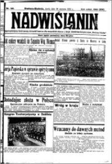 Nadwiślanin. Gazeta Ziemi Chełmińskiej, 1932.06.29 R. 14 nr 146
