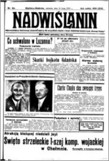 Nadwiślanin. Gazeta Ziemi Chełmińskiej, 1932.07.10 R. 14 nr 154