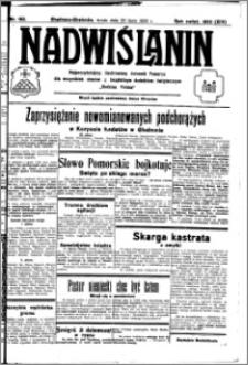 Nadwiślanin. Gazeta Ziemi Chełmińskiej, 1932.07.20 R. 14 nr 162