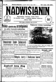 Nadwiślanin. Gazeta Ziemi Chełmińskiej, 1932.07.21 R. 14 nr 163