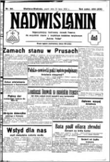 Nadwiślanin. Gazeta Ziemi Chełmińskiej, 1932.07.22 R. 14 nr 164