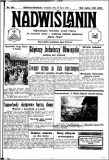 Nadwiślanin. Gazeta Ziemi Chełmińskiej, 1932.07.24 R. 14 nr 166