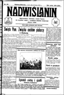 Nadwiślanin. Gazeta Ziemi Chełmińskiej, 1932.07.26 R. 14 nr 167