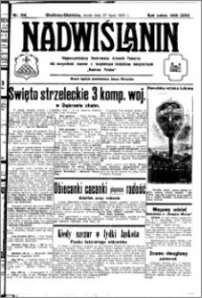 Nadwiślanin. Gazeta Ziemi Chełmińskiej, 1932.07.27 R. 14 nr 168