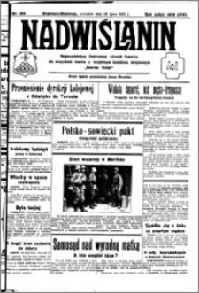 Nadwiślanin. Gazeta Ziemi Chełmińskiej, 1932.07.28 R. 14 nr 169