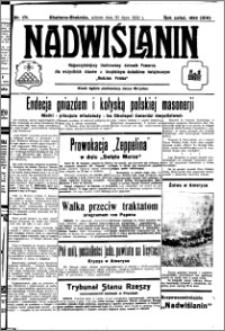 Nadwiślanin. Gazeta Ziemi Chełmińskiej, 1932.07.30 R. 14 nr 171