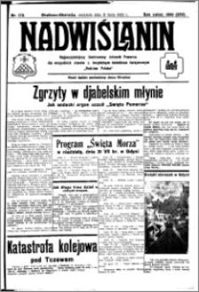 Nadwiślanin. Gazeta Ziemi Chełmińskiej, 1932.07.31 R. 14 nr 172