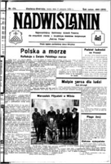 Nadwiślanin. Gazeta Ziemi Chełmińskiej, 1932.08.03 R. 14 nr 174