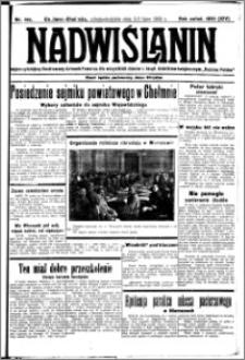 Nadwiślanin. Gazeta Ziemi Chełmińskiej, 1932.07.2-3 R. 14 nr 147/148
