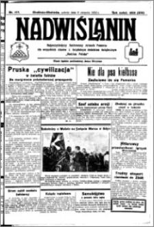 Nadwiślanin. Gazeta Ziemi Chełmińskiej, 1932.08.06 R. 14 nr 177