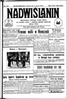 Nadwiślanin. Gazeta Ziemi Chełmińskiej, 1932.08.07 R. 14 nr 178