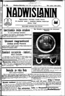 Nadwiślanin. Gazeta Ziemi Chełmińskiej, 1932.08.10 R. 14 nr 180