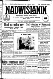 Nadwiślanin. Gazeta Ziemi Chełmińskiej, 1932.08.11 R. 14 nr 181