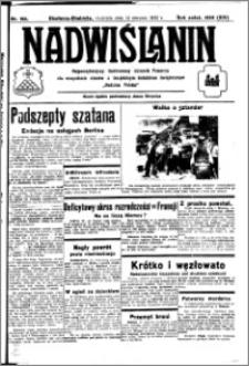 Nadwiślanin. Gazeta Ziemi Chełmińskiej, 1932.08.14 R. 14 nr 184