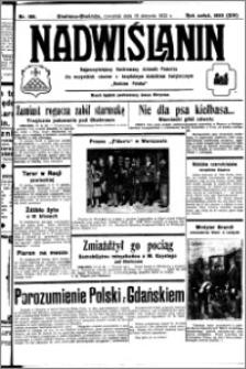 Nadwiślanin. Gazeta Ziemi Chełmińskiej, 1932.08.18 R. 14 nr 186