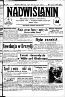Nadwiślanin. Gazeta Ziemi Chełmińskiej, 1932.08.19 R. 14 nr 187