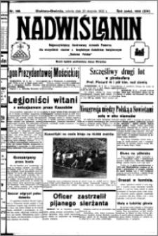 Nadwiślanin. Gazeta Ziemi Chełmińskiej, 1932.08.20 R. 14 nr 188
