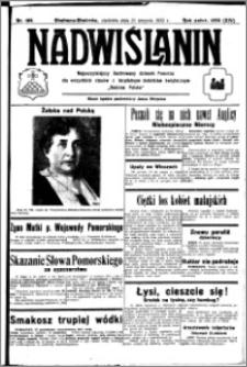 Nadwiślanin. Gazeta Ziemi Chełmińskiej, 1932.08.21 R. 14 nr 189