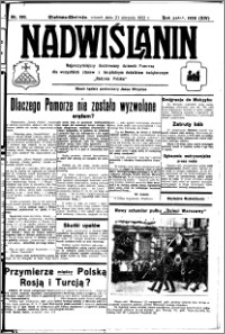 Nadwiślanin. Gazeta Ziemi Chełmińskiej, 1932.08.23 R. 14 nr 190