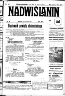 Nadwiślanin. Gazeta Ziemi Chełmińskiej, 1932.08.24 R. 14 nr 191