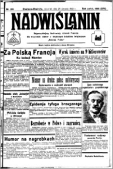 Nadwiślanin. Gazeta Ziemi Chełmińskiej, 1932.08.25 R. 14 nr 192