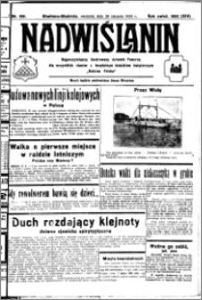 Nadwiślanin. Gazeta Ziemi Chełmińskiej, 1932.08.28 R. 14 nr 195