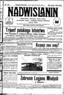 Nadwiślanin. Gazeta Ziemi Chełmińskiej, 1932.08.30 R. 14 nr 196