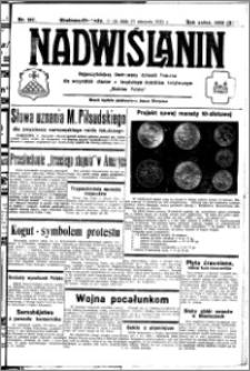 Nadwiślanin. Gazeta Ziemi Chełmińskiej, 1932.08.31 R. 14 nr 197