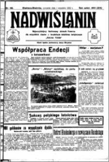 Nadwiślanin. Gazeta Ziemi Chełmińskiej, 1932.09.01 R. 14 nr 198