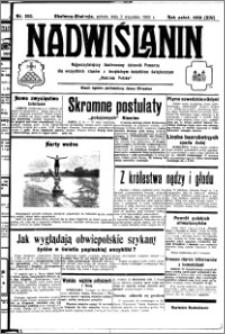 Nadwiślanin. Gazeta Ziemi Chełmińskiej, 1932.09.03 R. 14 nr 200