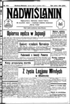 Nadwiślanin. Gazeta Ziemi Chełmińskiej, 1932.09.06 R. 14 nr 202