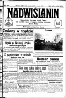 Nadwiślanin. Gazeta Ziemi Chełmińskiej, 1932.09.07 R. 14 nr 203