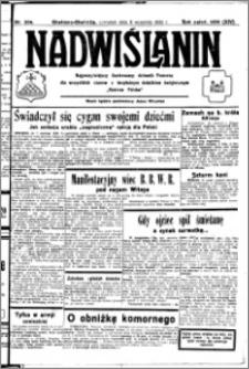 Nadwiślanin. Gazeta Ziemi Chełmińskiej, 1932.09.08 R. 14 nr 204