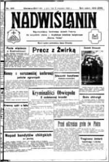 Nadwiślanin. Gazeta Ziemi Chełmińskiej, 1932.09.09 R. 14 nr 205