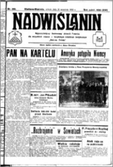 Nadwiślanin. Gazeta Ziemi Chełmińskiej, 1932.09.10 R. 14 nr 206